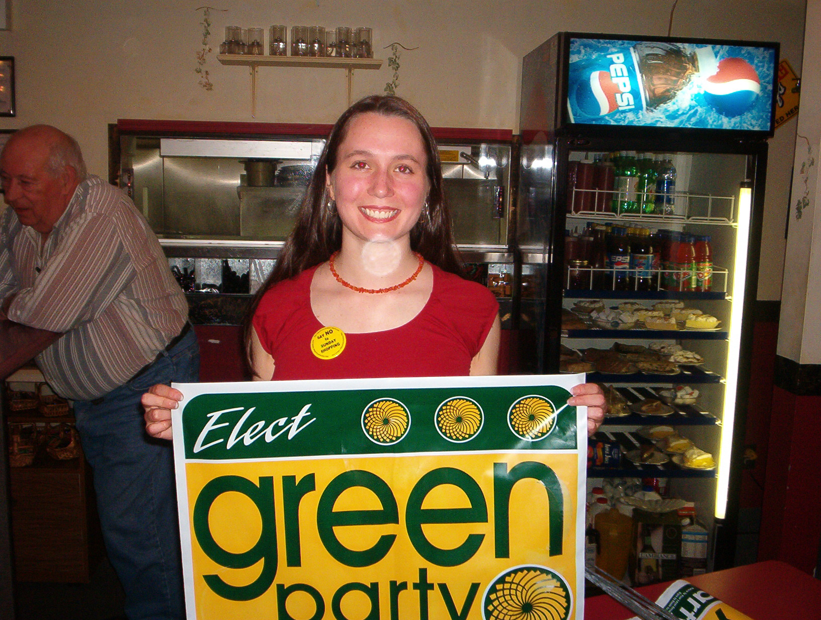 Katie Boudreau , Green Party